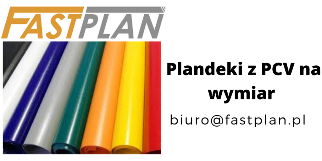 Plandeki niebieskie, zielone, czerwone, pomarańczowe z PCV